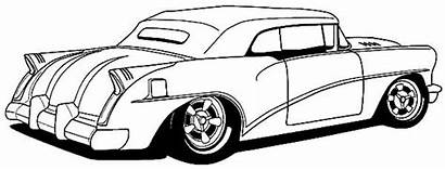 Coloring Rod Pages Cars Rods Kidsplaycolor Super