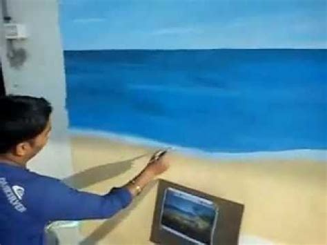 beach themed wall murals handmade wall murals beach
