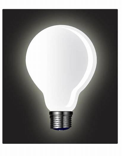 Bulb Clip Clipart Clker Vector