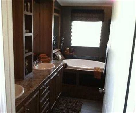 single wide mobile home bathroom ideas wide mobile home remodel master bath