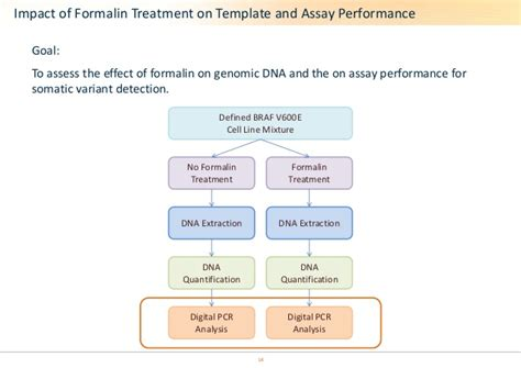 assess  effect  formalin  genomic dna  assay