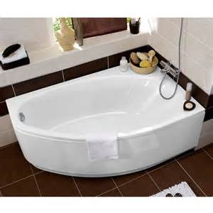 Coffrage Baignoire D Angle by Baignoire D Angle En Acryl Amande Great Design For Small