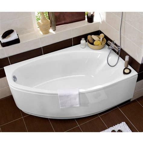 baignoire d angle en acryl amande great design for small spaces decor and design