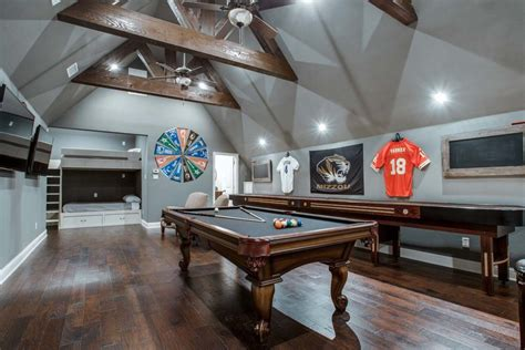 flex room design ideas bonus room turned  game room