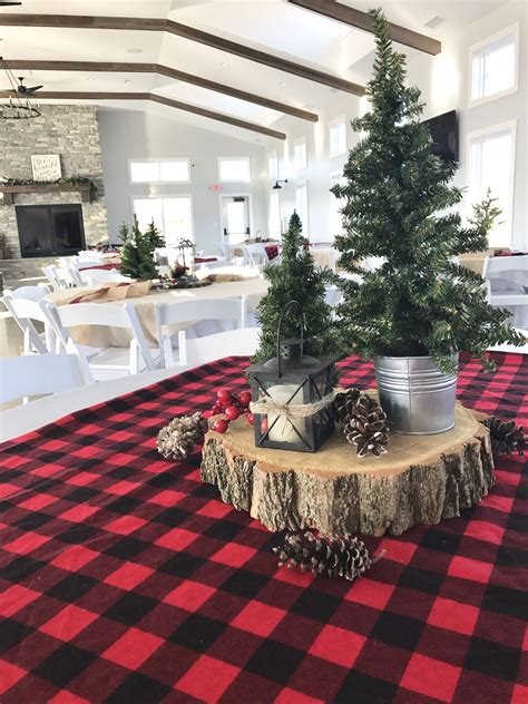 buffalo plaid  christmas trees lumberjackbirthday