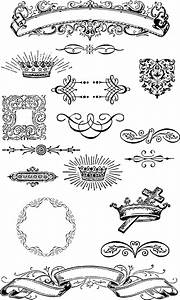 Free Vintage Grunge Vector and Clip Art Ornaments for T ...