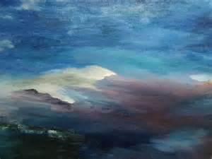 Mountain Landscape Paintings Abstract