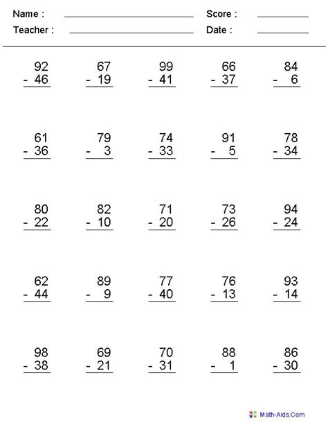 this website is great to create maths worksheets specifically for what you need love it