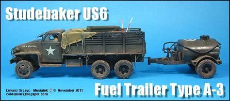 Studebaker Us6 + Fuel Trailer Type A-3