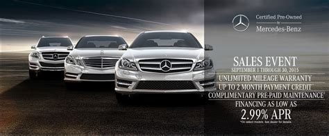 Complete the form below to get a quick response. The Fall Mercedes-Benz Certified Pre-Owned Sales Event at Benzel-Busch
