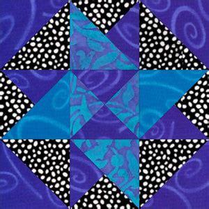 card trick quilt block    quilt block pattern