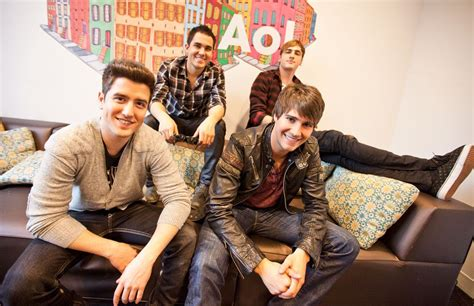 It was created by scott fellows. Big Time Rush Photoshoot For AOL Music.