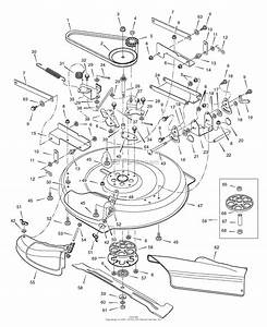 Murray 309029x11e  30  Heritage Tractor  2007  Parts Diagram For Mower Housing