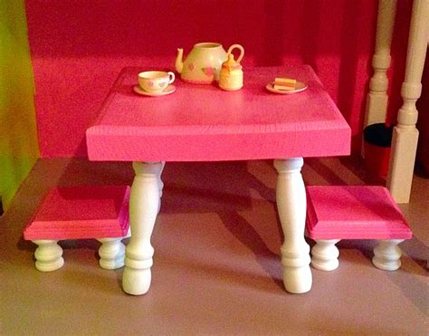 american doll kitchen table american kitchen table and stools diy american