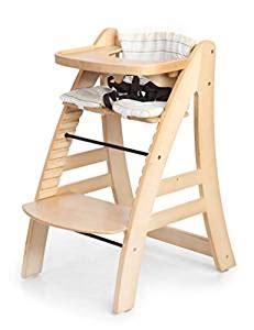 sepnine height adjustable wooden highchair