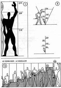 Modulor Le Corbusier : le modulor du corbusier son propre module las proporciones para muebles y estructura humanas ~ Eleganceandgraceweddings.com Haus und Dekorationen