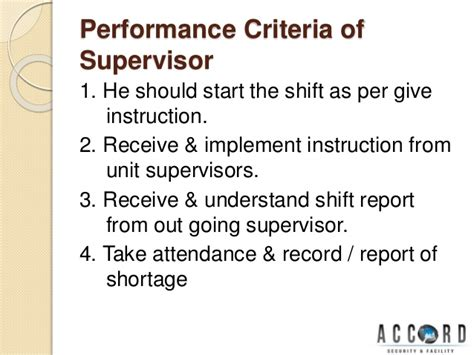 Security Supervisor Skills by Security Supervisor Ppt