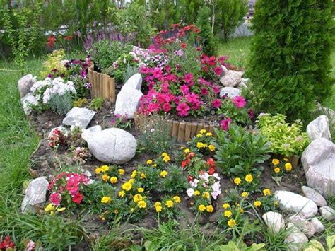 Blumenbeet Gestalten Ideen by 1001 Ideen Zum Thema Blumenbeet Mit Steinen Dekorieren