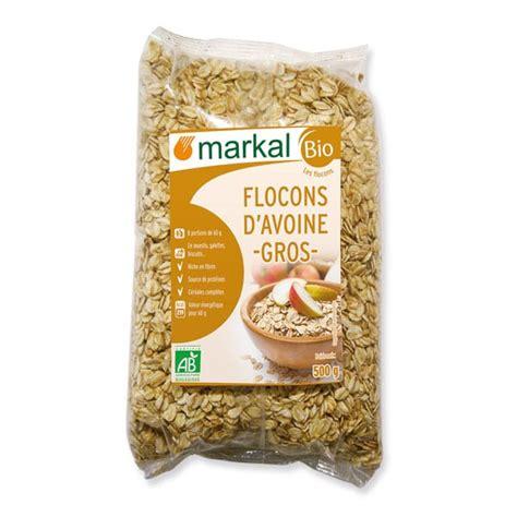 cuisiner les flocons d avoine flocons d 39 avoine gros petit déjeuner produit bio markal