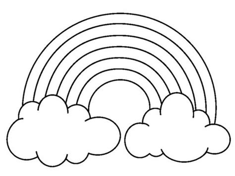 printable rainbow coloring pages phb