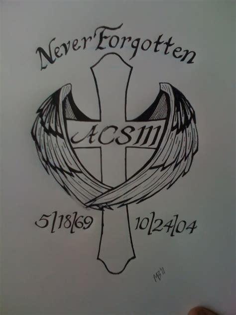 memorial tattoo designs