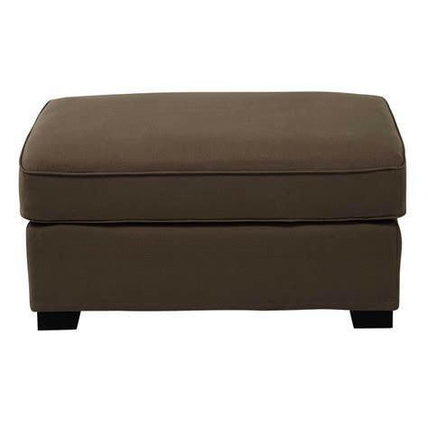 canapé pouf modulable pouf de canapé modulable en coton taupe maisons