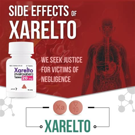 side effects  xarelto infographic contest