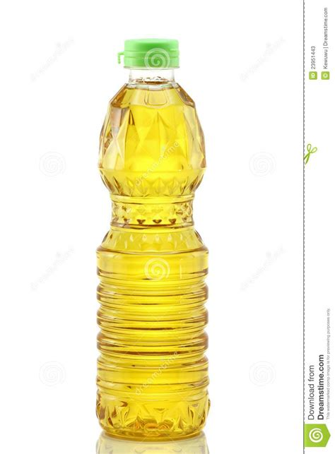 huile de cuisine de grain de paume sur le blanc image