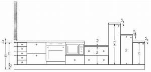 Dimension Plan De Travail : hauteur plan de travail cuisine standard ~ Melissatoandfro.com Idées de Décoration
