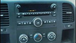 How To Remove Car Stereo Chevrolet Silverado 2007