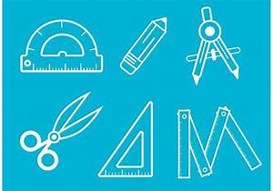 Architecture Tools Vector Outlines - Download Free Vector ...