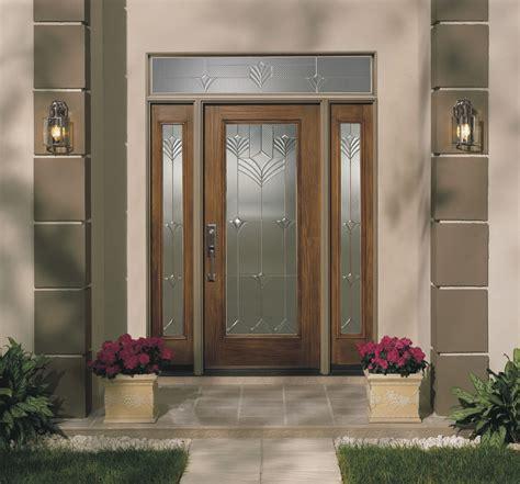 Windows Entry Doors Fiberglass Exterior Single Entry Doors With Transom