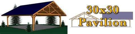 30x30 log pavilion meadowlark log homes