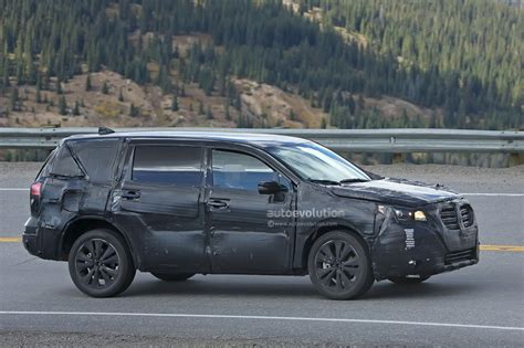 2019 Subaru Tribeca Heir Spied Benchmarking Against Mazda