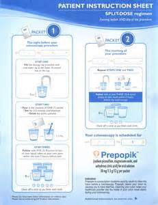 Colonoscopy Bowel Prep Instructions