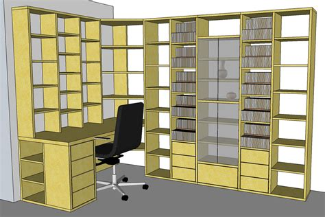 meuble bureau d angle fabrication bibliothèque et bureau d 39 angle sur mesure en bois