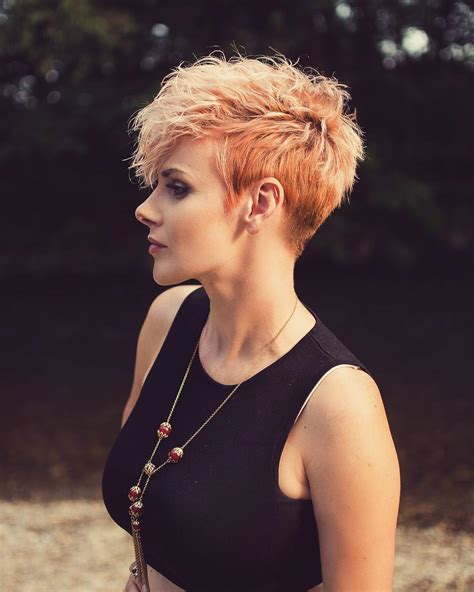 10 Peppy Pixie Cuts   Boy Cuts & Girlie Cuts to Inspire