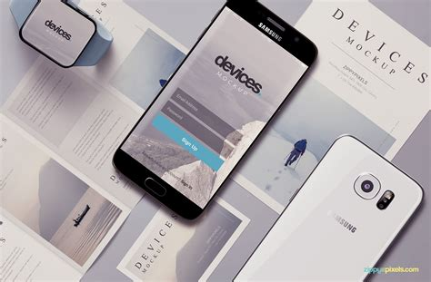 Mobile Free by Free Android Mobile Mockup Zippypixels