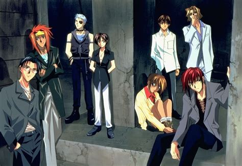 classic anime  review weiss kreuz  chewns