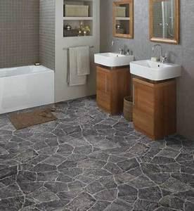 Pvc Boden Küche : pvc boden gerflor quatro granit grau blau 0617 bodenbel ge ~ Michelbontemps.com Haus und Dekorationen