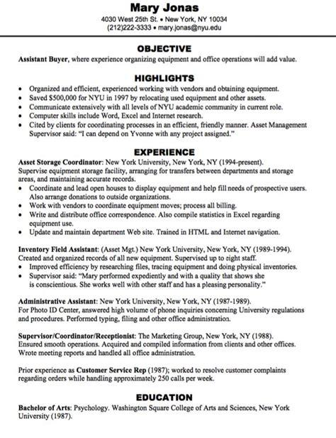 Buyer Resume by Assistant Buyer Resume Sle Http Exleresumecv Org