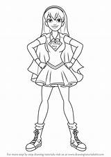 Dc Superhero Coloring Pages Draw Learn Super Hero Printable Supergirl Getcolorings sketch template