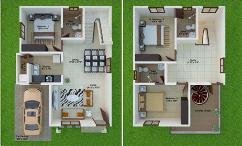 Home Design 15 X 30 Plot : 15 Feet By 40 East Facing Beautiful Duplex Home Plan