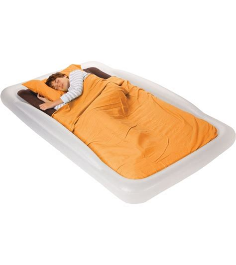 the shrunks tuckaire twin travel bed with pump ages 6
