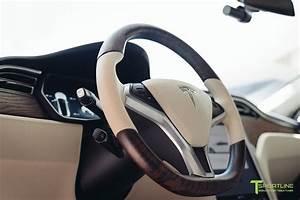 Tesla Figured Ash Steering Wheel – TSportline.com - Tesla Model S, X & 3 Accessories
