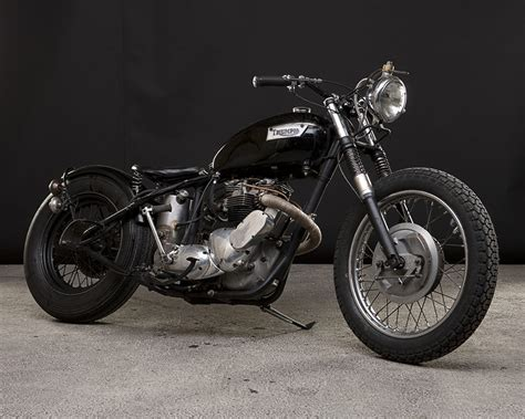 A Pure Vintage Old School Bobber