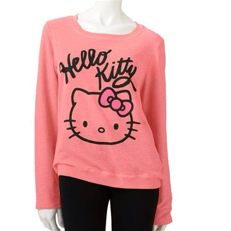 hello sweater hello nwot pink hello sweatshirt from kytia