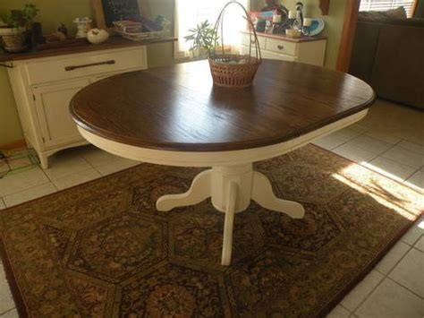 Idea for refinishing great grandma's oak table?   Home