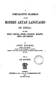 A Comparative Grammar of the Modern Aryan Languages of