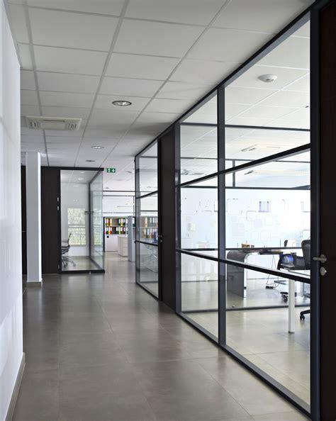 cloison verre bureau cloison amovible vitre trendy cloison vitre sur allge